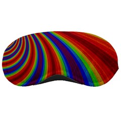 Abstract Pattern Lines Wave Sleeping Masks