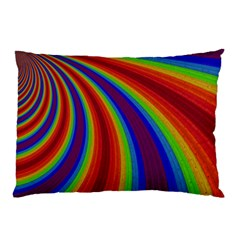 Abstract Pattern Lines Wave Pillow Case (two Sides)