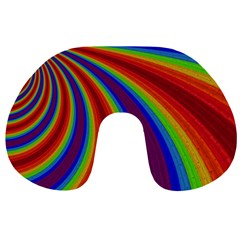 Abstract Pattern Lines Wave Travel Neck Pillows