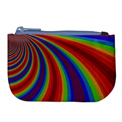 Abstract Pattern Lines Wave Large Coin Purse