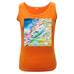 Art Abstract Abstract Art Women s Dark Tank Top