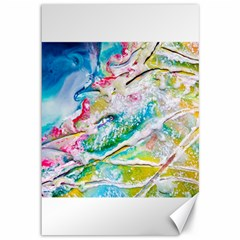 Art Abstract Abstract Art Canvas 12  X 18