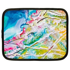 Art Abstract Abstract Art Netbook Case (large)