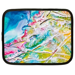 Art Abstract Abstract Art Netbook Case (xxl)