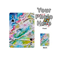 Art Abstract Abstract Art Playing Cards 54 (mini)