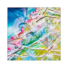 Art Abstract Abstract Art Acrylic Tangram Puzzle (6  X 6 )