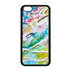 Art Abstract Abstract Art Apple Iphone 5c Seamless Case (black)