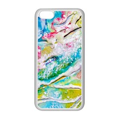 Art Abstract Abstract Art Apple Iphone 5c Seamless Case (white)