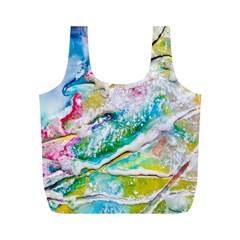 Art Abstract Abstract Art Full Print Recycle Bags (m)