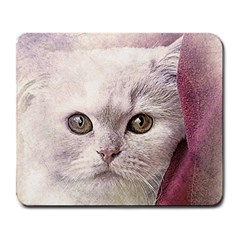 Cat Pet Cute Art Abstract Vintage Large Mousepads
