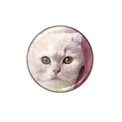 Cat Pet Cute Art Abstract Vintage Hat Clip Ball Marker (10 Pack)