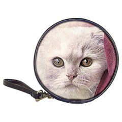 Cat Pet Cute Art Abstract Vintage Classic 20 Cd Wallets