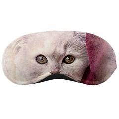 Cat Pet Cute Art Abstract Vintage Sleeping Masks