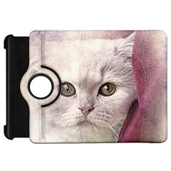 Cat Pet Cute Art Abstract Vintage Kindle Fire Hd 7