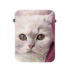 Cat Pet Cute Art Abstract Vintage Apple Ipad 2/3/4 Protective Soft Cases
