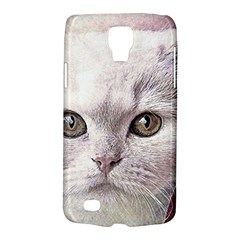 Cat Pet Cute Art Abstract Vintage Galaxy S4 Active