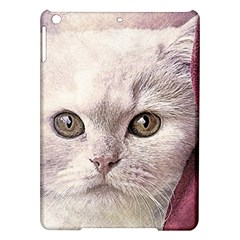 Cat Pet Cute Art Abstract Vintage Ipad Air Hardshell Cases
