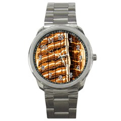 Abstract Architecture Background Sport Metal Watch