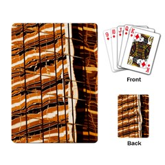 Abstract Architecture Background Playing Card