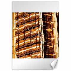 Abstract Architecture Background Canvas 12  X 18   by Nexatart