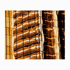 Abstract Architecture Background Small Glasses Cloth (2 Side)