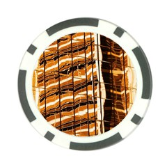 Abstract Architecture Background Poker Chip Card Guard
