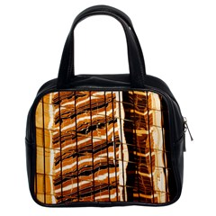 Abstract Architecture Background Classic Handbags (2 Sides) by Nexatart