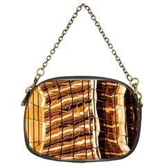 Abstract Architecture Background Chain Purses (one Side)