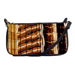 Abstract Architecture Background Shoulder Clutch Bags