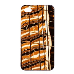 Abstract Architecture Background Apple Iphone 4/4s Seamless Case (black)
