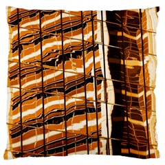 Abstract Architecture Background Large Cushion Case (one Side)