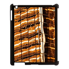 Abstract Architecture Background Apple Ipad 3/4 Case (black)