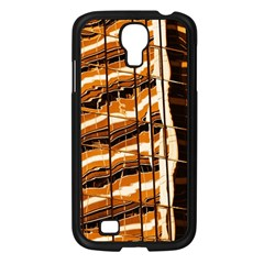 Abstract Architecture Background Samsung Galaxy S4 I9500/ I9505 Case (black)