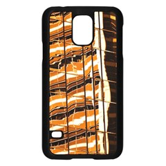 Abstract Architecture Background Samsung Galaxy S5 Case (black)