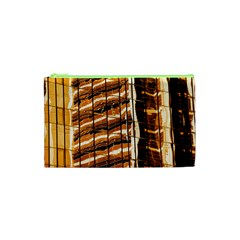 Abstract Architecture Background Cosmetic Bag (xs)