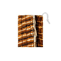 Abstract Architecture Background Drawstring Pouches (xs)