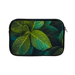 Green Plant Leaf Foliage Nature Apple Ipad Mini Zipper Cases by Nexatart
