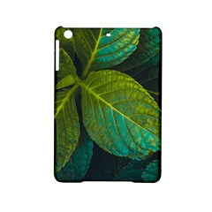 Green Plant Leaf Foliage Nature Ipad Mini 2 Hardshell Cases by Nexatart