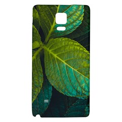 Green Plant Leaf Foliage Nature Galaxy Note 4 Back Case