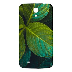 Green Plant Leaf Foliage Nature Samsung Galaxy Mega I9200 Hardshell Back Case by Nexatart