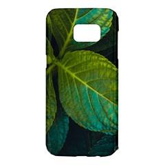 Green Plant Leaf Foliage Nature Samsung Galaxy S7 Edge Hardshell Case