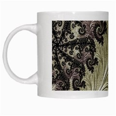 Pattern Decoration Retro White Mugs