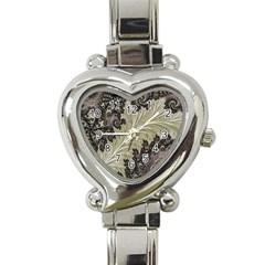 Pattern Decoration Retro Heart Italian Charm Watch