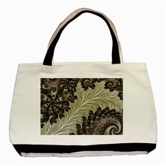 Pattern Decoration Retro Basic Tote Bag (two Sides)