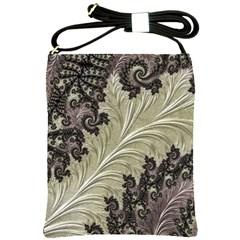 Pattern Decoration Retro Shoulder Sling Bags