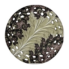 Pattern Decoration Retro Ornament (round Filigree)
