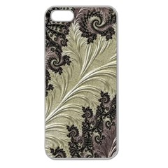 Pattern Decoration Retro Apple Seamless Iphone 5 Case (clear)