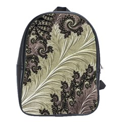 Pattern Decoration Retro School Bag (xl)