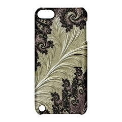 Pattern Decoration Retro Apple Ipod Touch 5 Hardshell Case With Stand