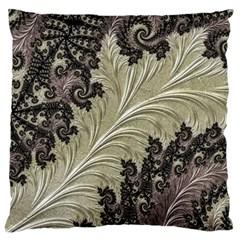 Pattern Decoration Retro Standard Flano Cushion Case (one Side)